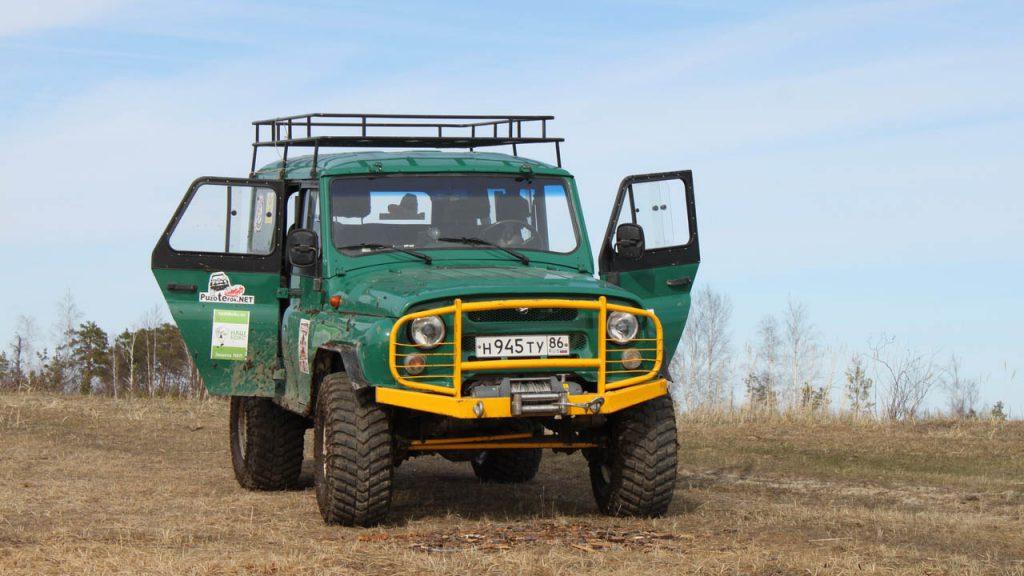 УАЗ 31519 на 35 Maxxis Mudzilla