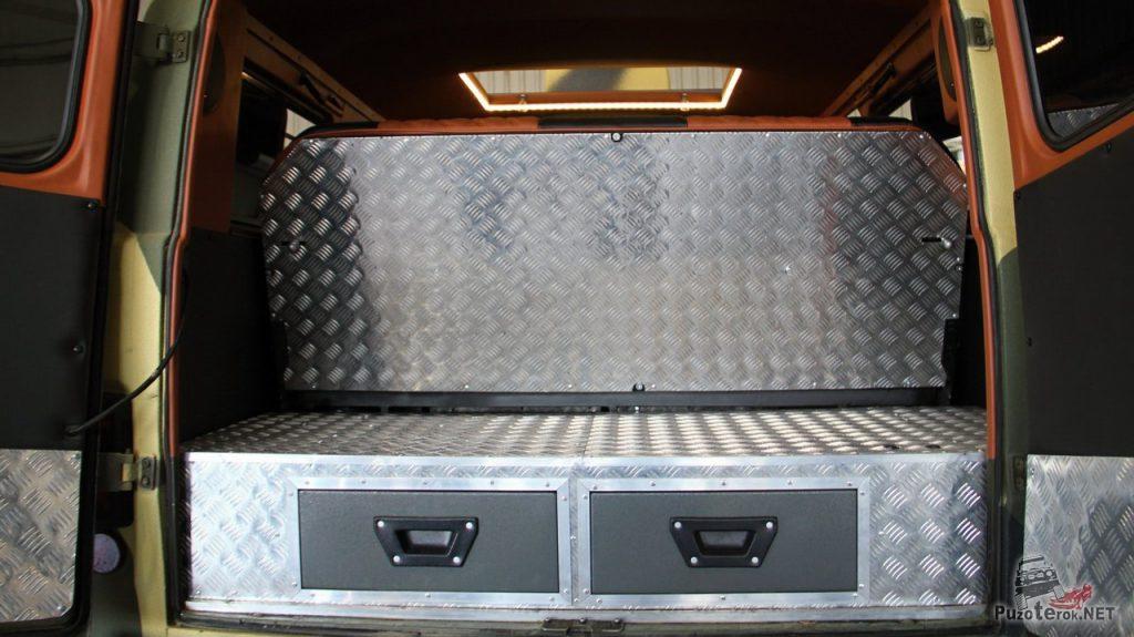 Органайзер в багажный отсек УАЗ Буханка