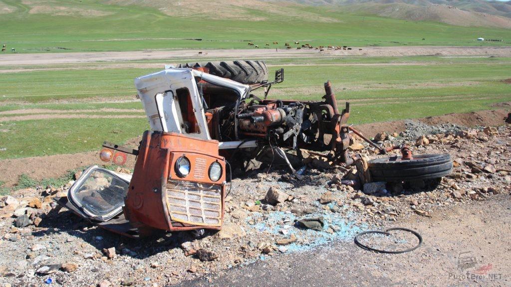 ДТП на Монгольской дороге