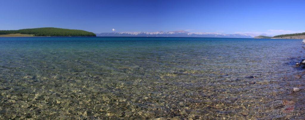 Озеро Хубсугул - красивое и чистое