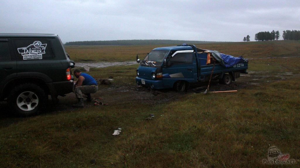 Помощь монголам в пути
