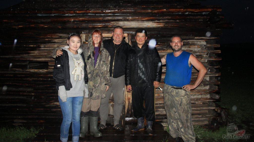 Фото с монголами на память
