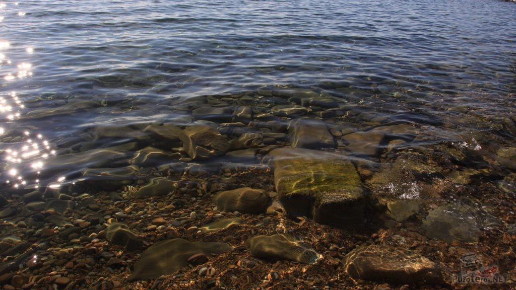 Чистейшая вода в озере