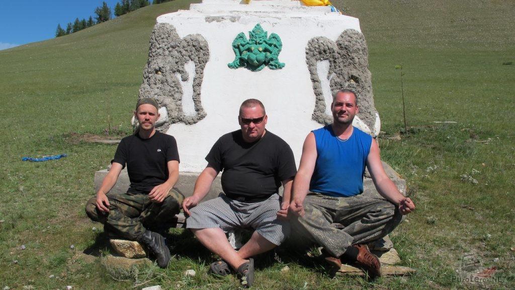 Фото путешественников в Монголии