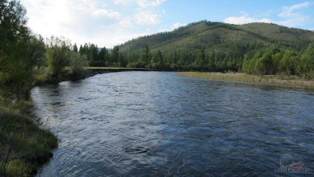 Реки Монголии. Аригийн-гол.