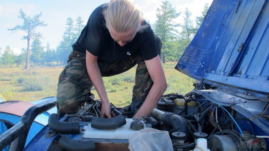 Ремонт патрубка радиатора УАЗ