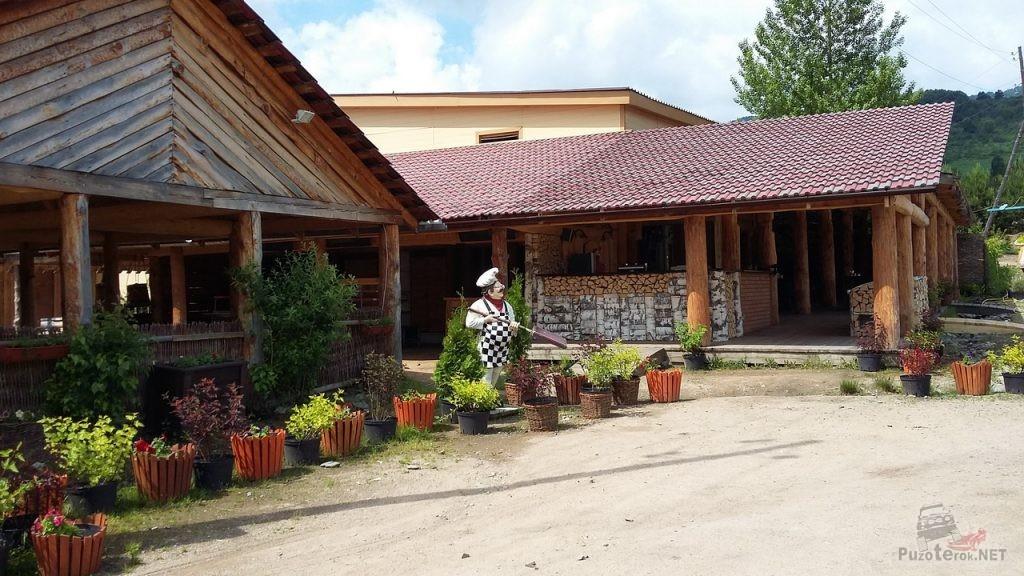 Село Алтайское, дендросад