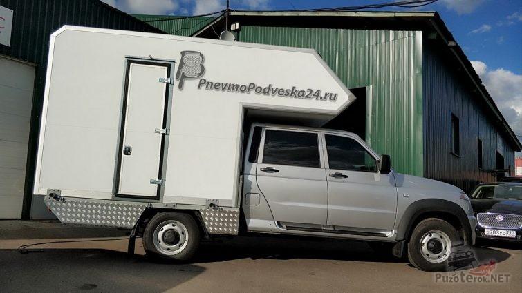 Автодом на базе УАЗ Профи