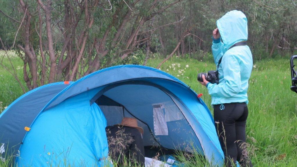 Быстросборная палатка Quechua