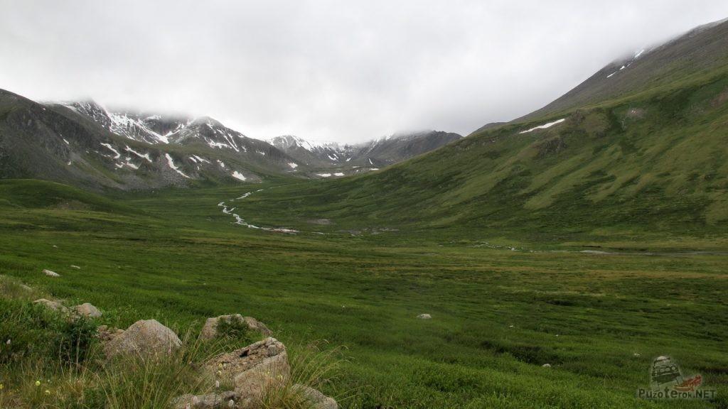 Пейзаж по дороге на Укок