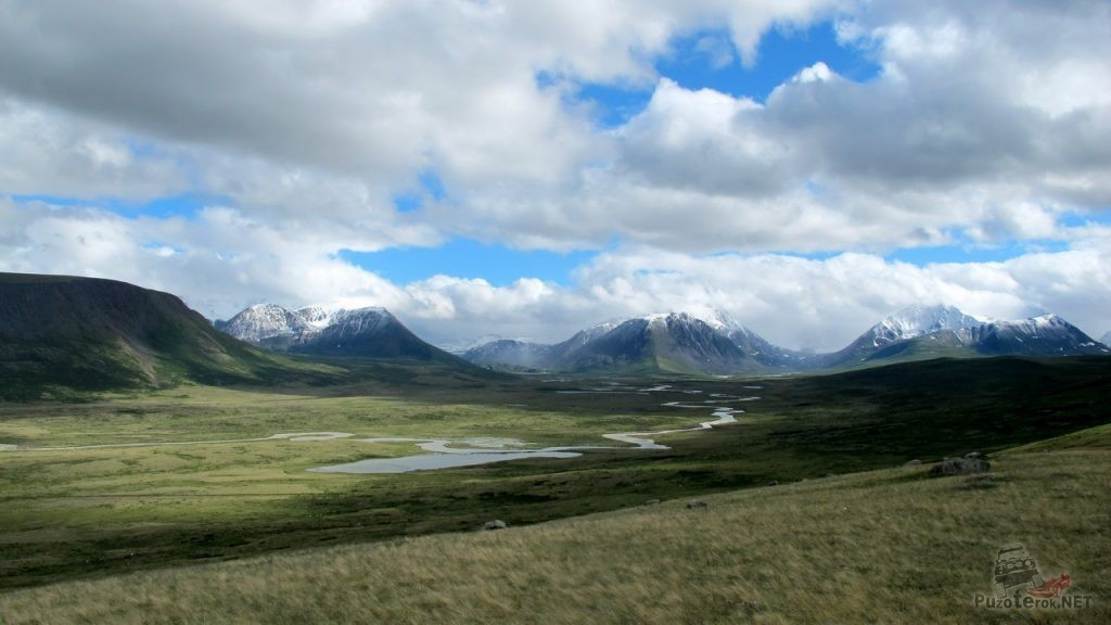 Красивые виды плато Укок