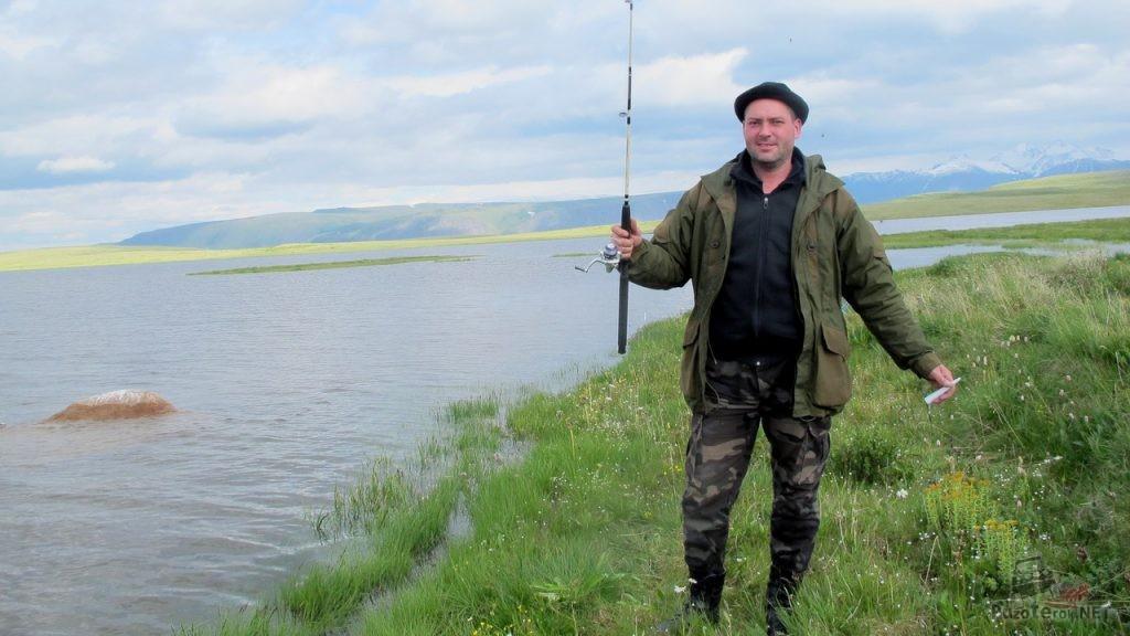 Попытка порыбачить на озере Укок