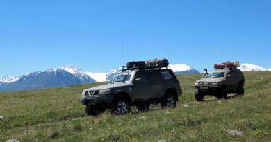 Путешествие на плато Укок на внедорожниках