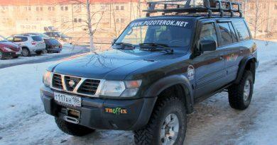 Nissan Patrol после кузовного ремонта