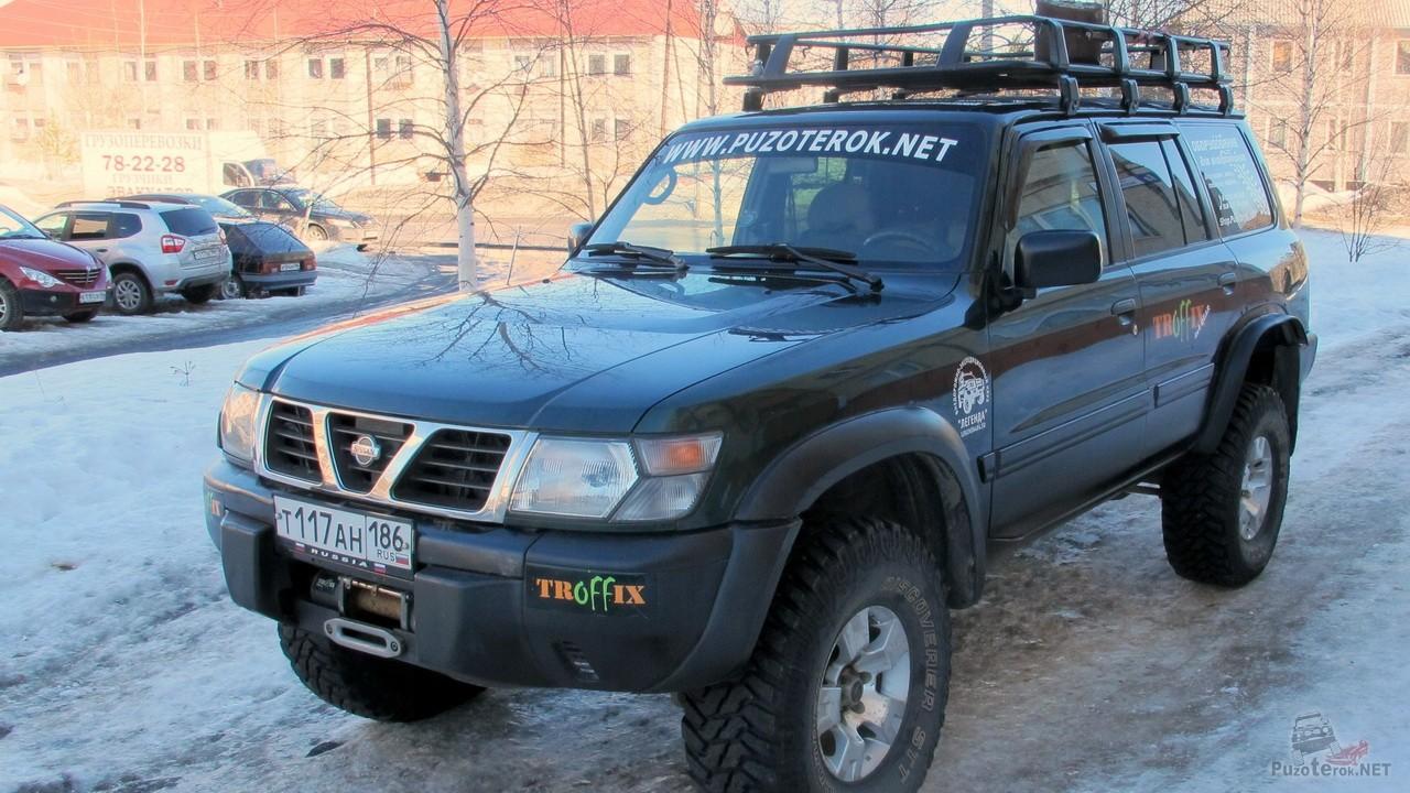 Ремонт арок Nissan Patrol