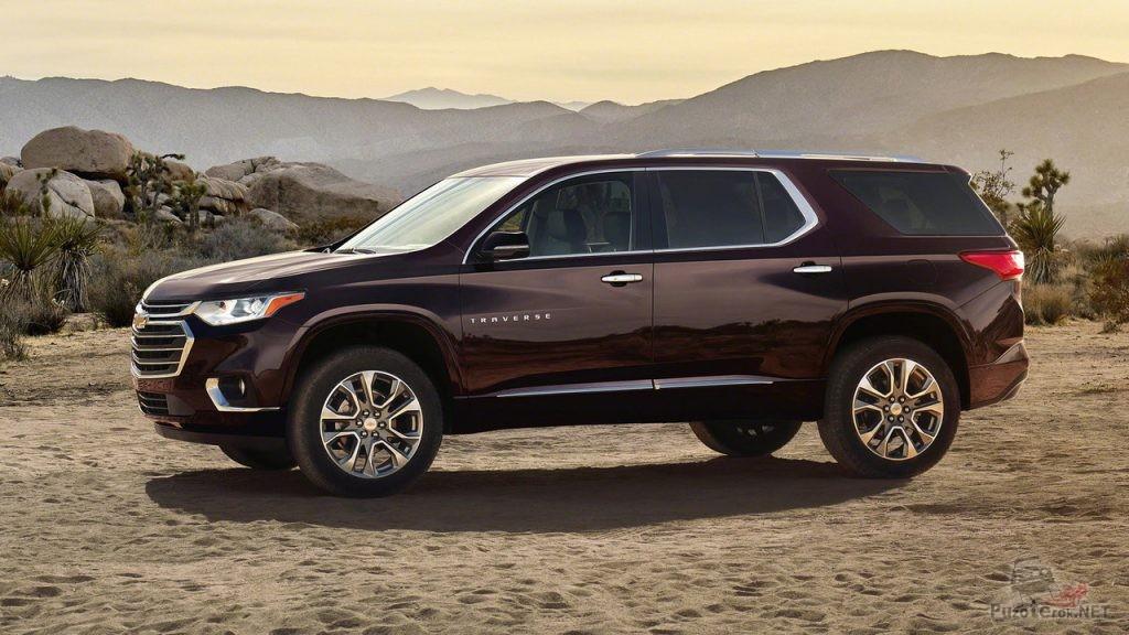 Новый Chevrolet Traverse 2018