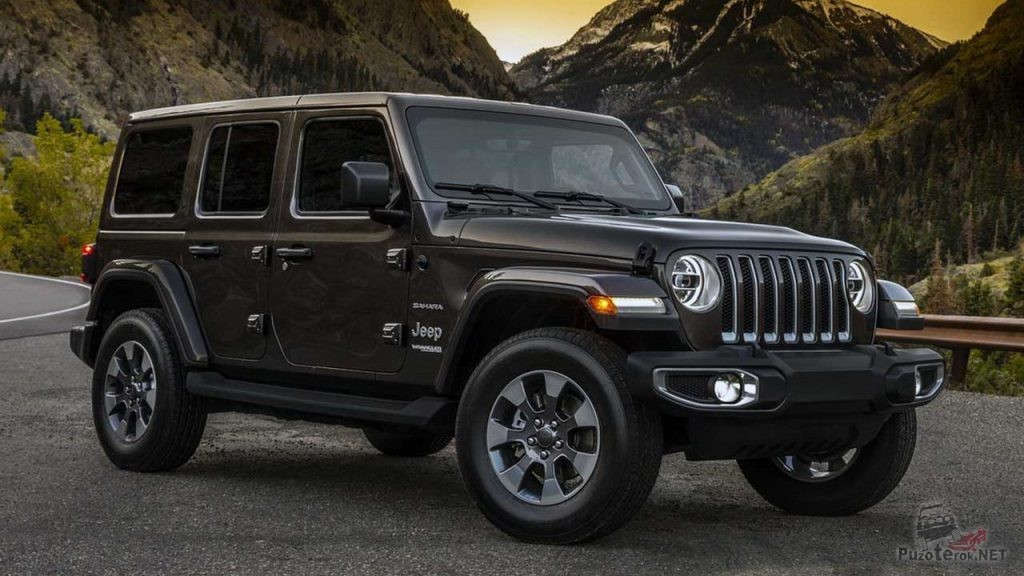 Новый Jeep Wrangler Sahara 2018