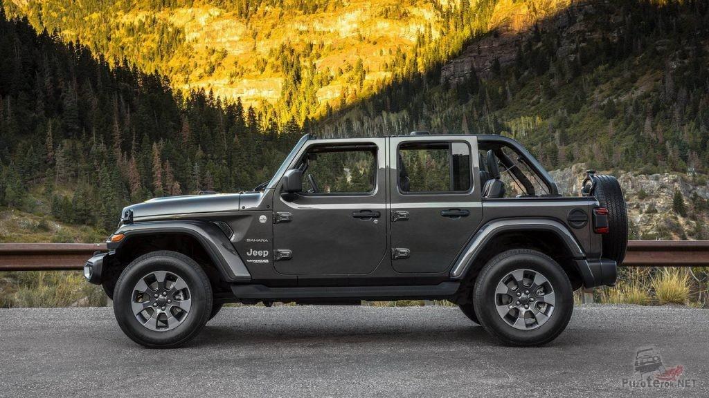 Новый Jeep Wrangler Unlimited 2018