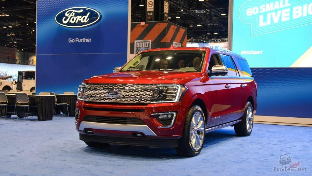 Новый внедорожник Ford Expedition 2018 года
