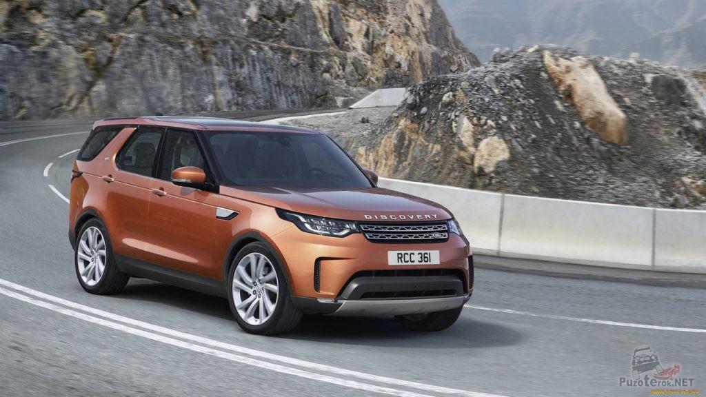 Новый внедорожник Land Rover discovery Sport 2018