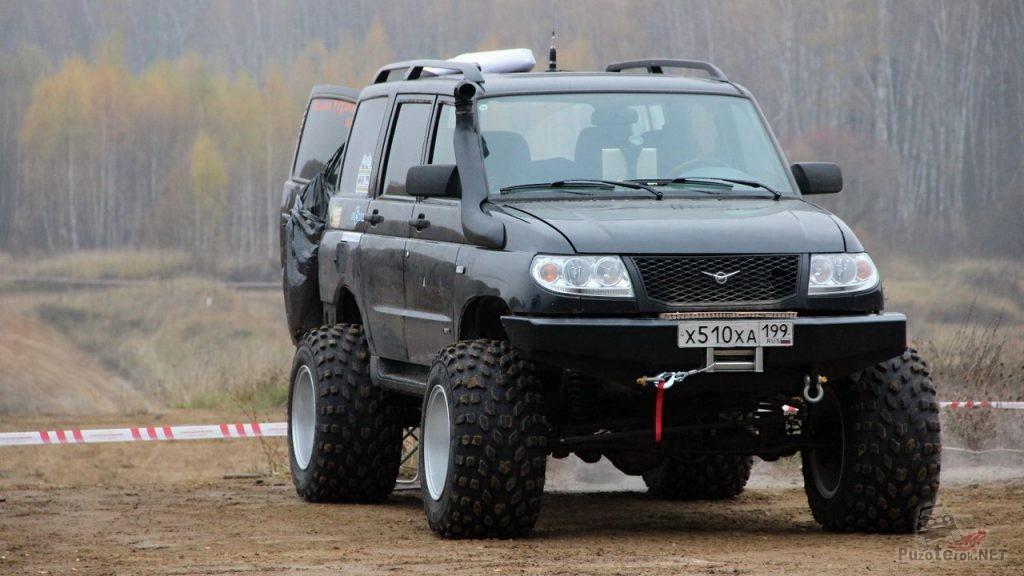 Шины Avtoros M-Trim на УАЗ Патриот