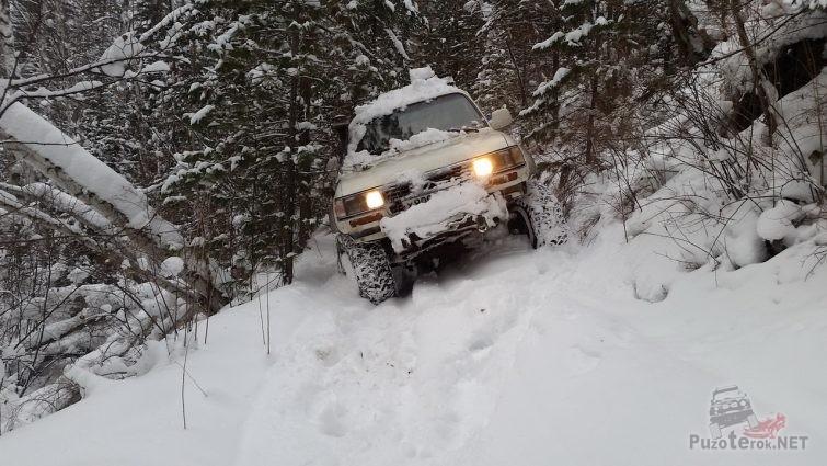 Шины Comforser CF3000 зимой в снегу