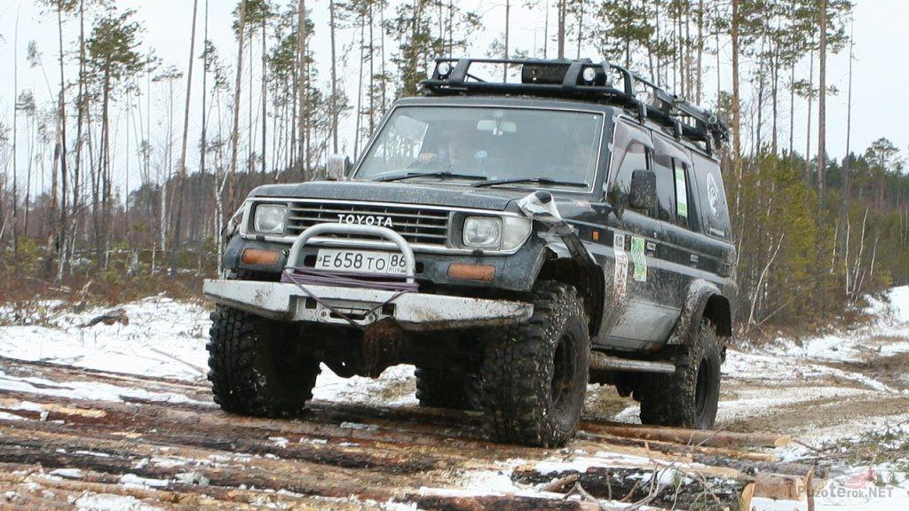 Toyota Land cruiser на 37 Simex Extrem Trekker