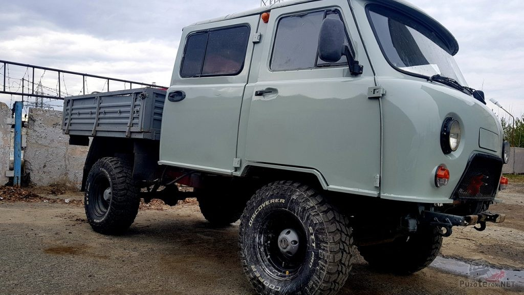 Подготовленный УАЗ Фермер на 33 Cooper Discoverer STT Pro