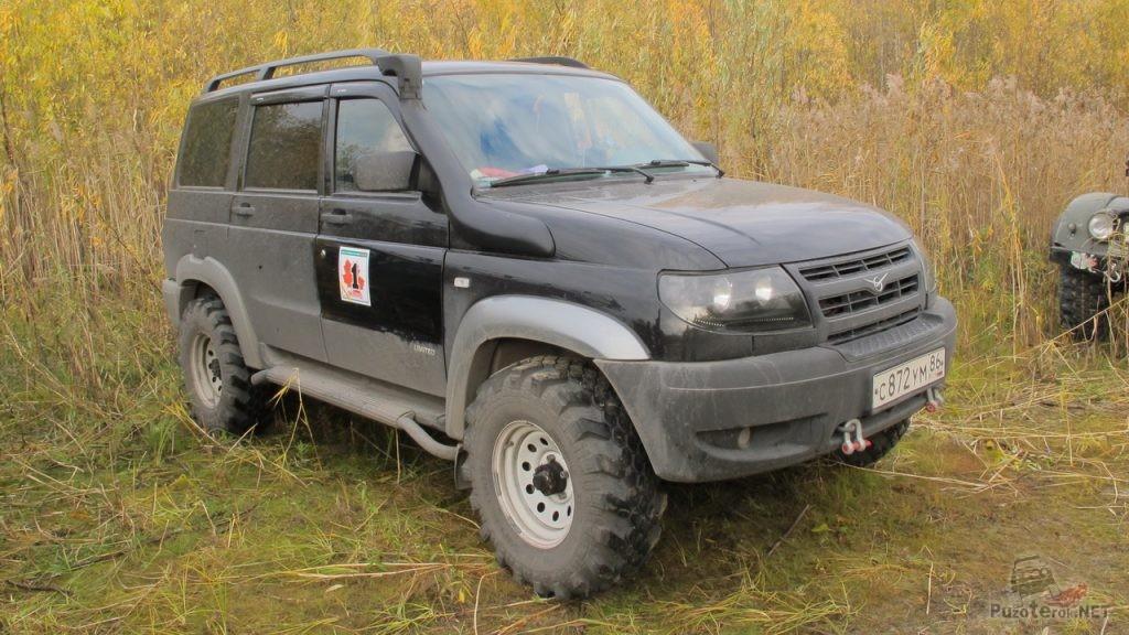 УАЗ Патриот на шинах Superstone Crocodile XTREME