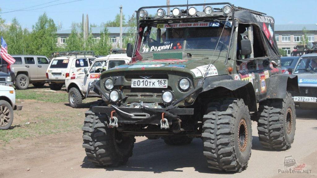 УАЗ на шинах Bogger