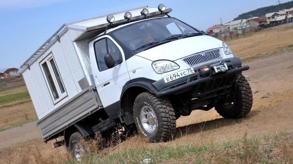 Автодом бортовой ГАЗ Соболь 4х4