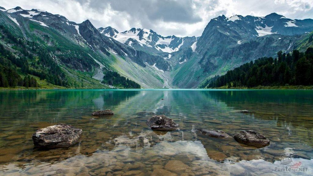 Чистые воды горных озер Алтая
