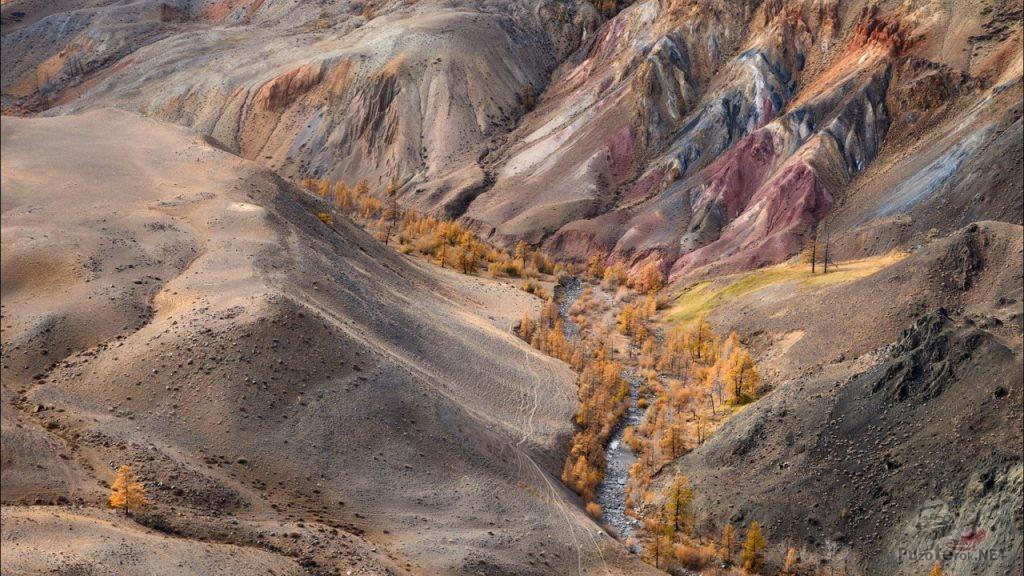 Долина Кызыл-Чин, Алтай