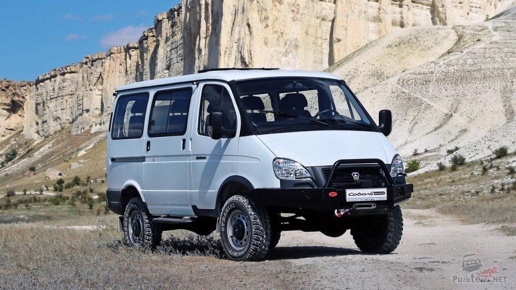 ГАЗ Соболь 22177 4Х4 с силовым бампером OJ