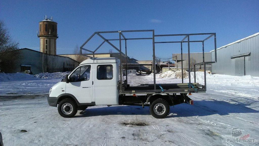 Каркас съемного модуля для экспедиционного ГАЗ Соболь Фермер
