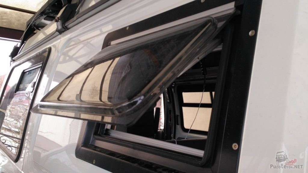Окна для соболь кемпер