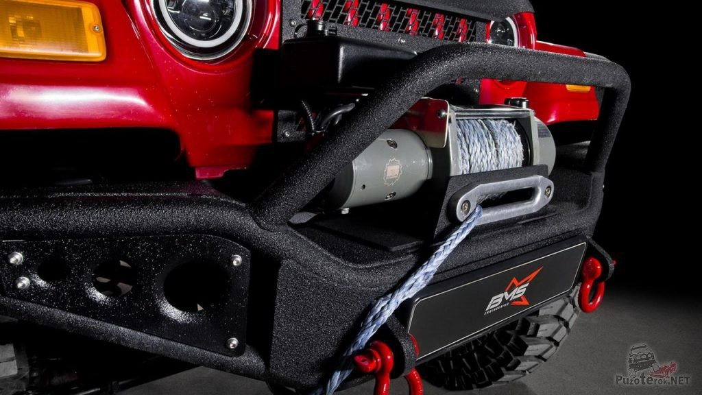 Передний силовой бампер BMS на Jeep Wrangler