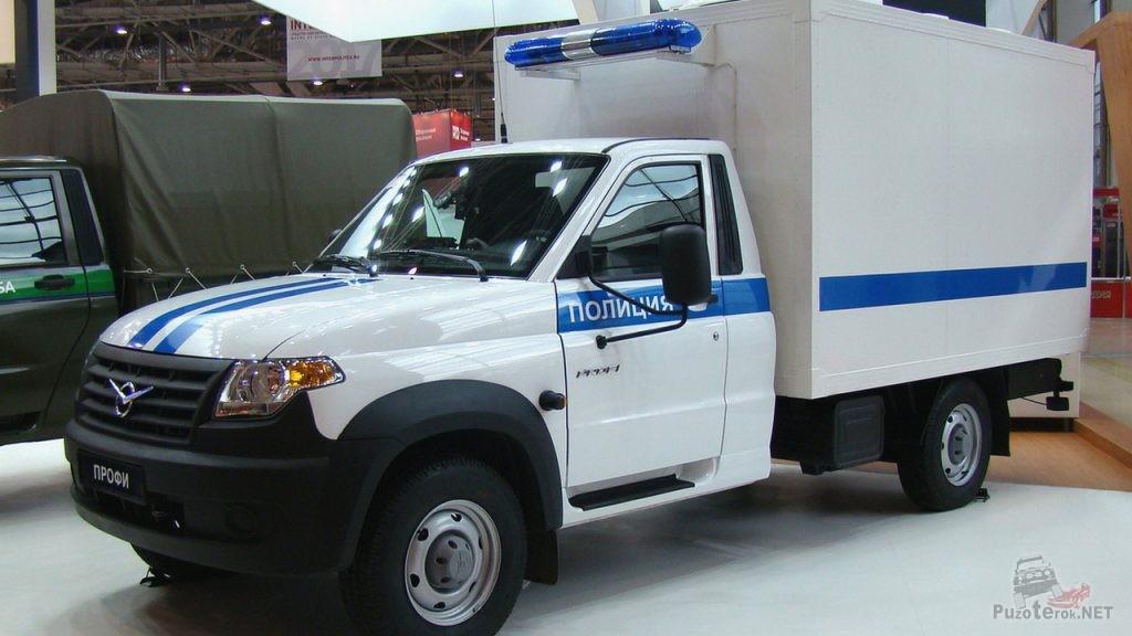 Полицейский автозак УАЗ Профи