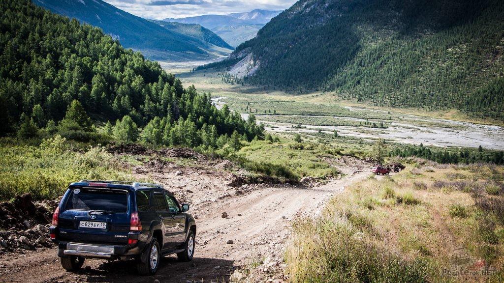 Путешествие на 4runner по Горному Алтаю