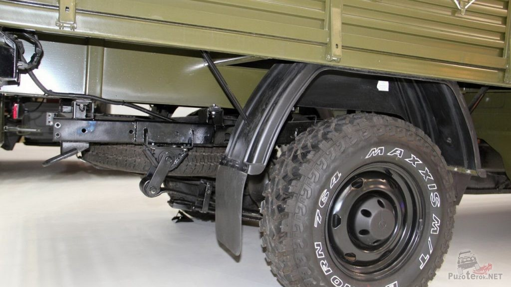 Рама УАЗ Профи с дополнительным удлиннением для размещения задних стоек крепления кузова
