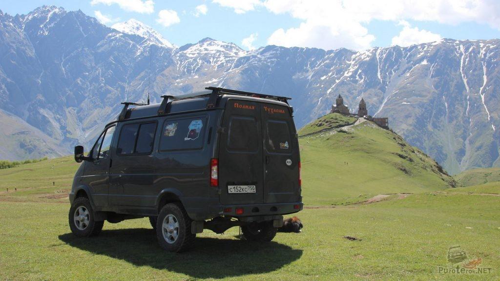 Соболь 4х4 в горах Кавказа