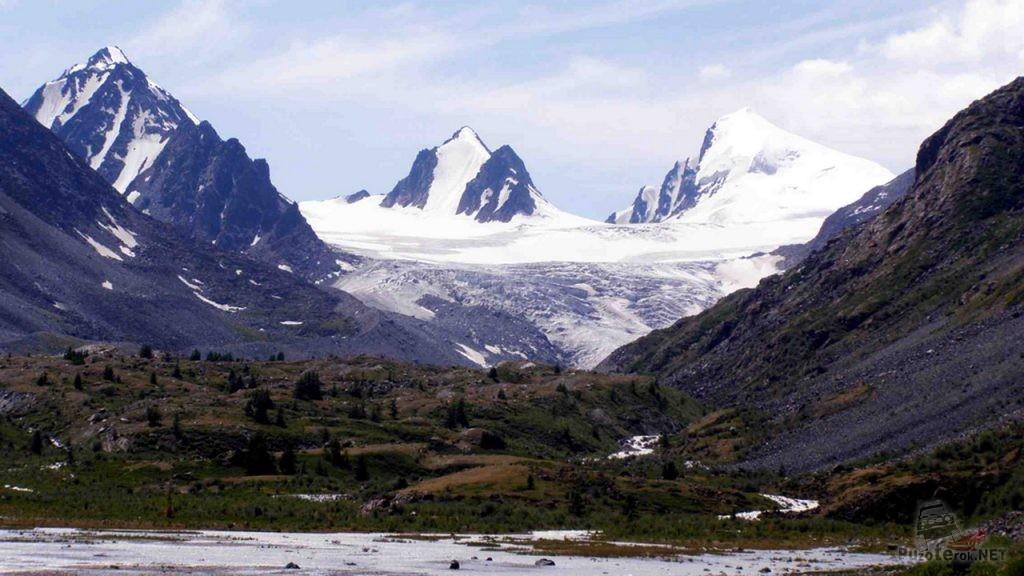 Софийский ледник Республика Алтай