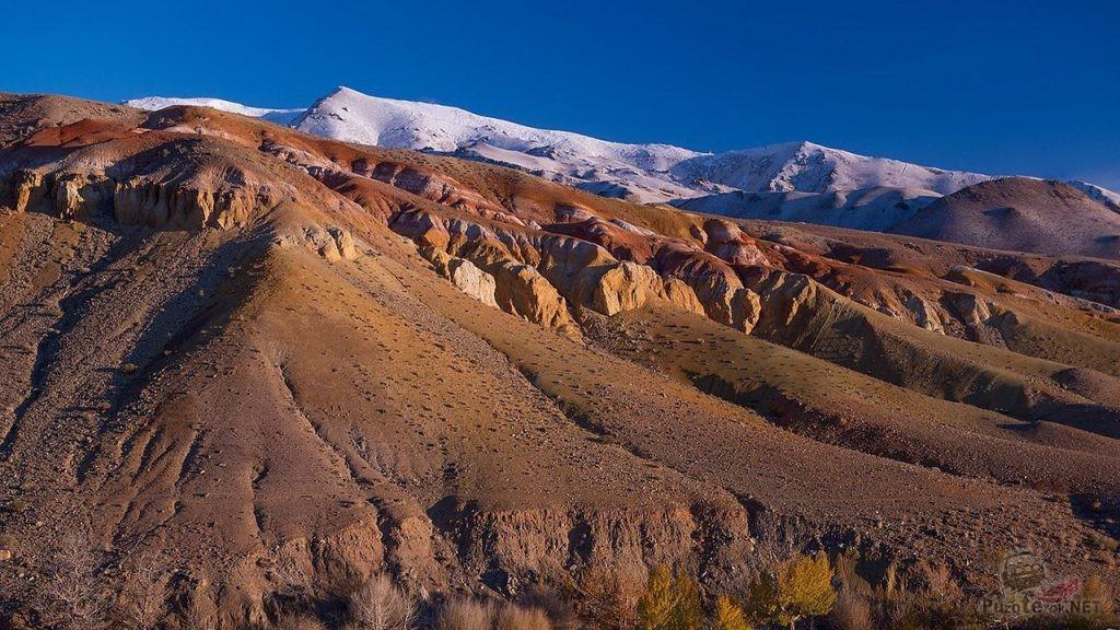 Цветные горы Кызыл-Чин