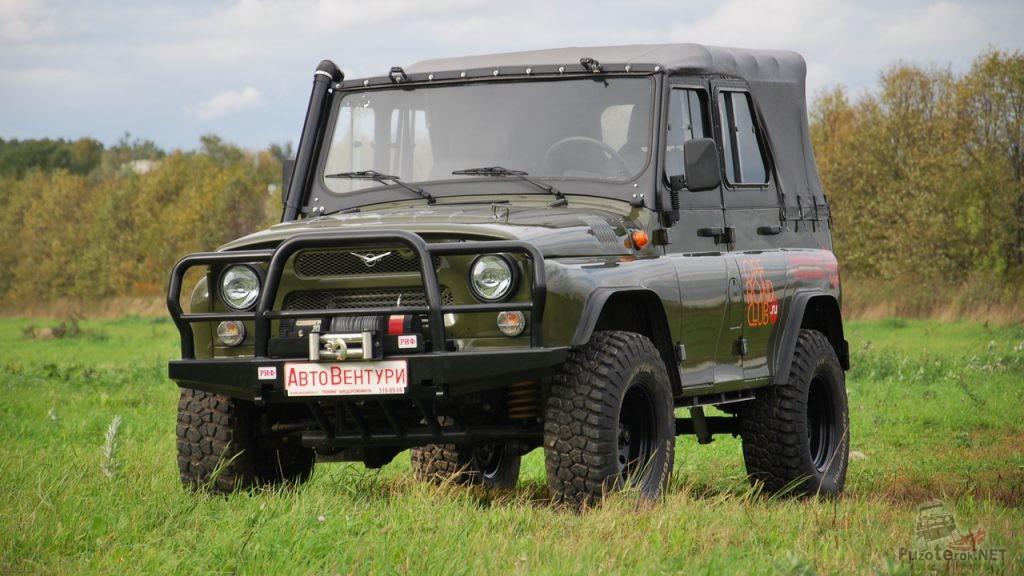 Тюнинг тентованного УАЗ 469 NEW