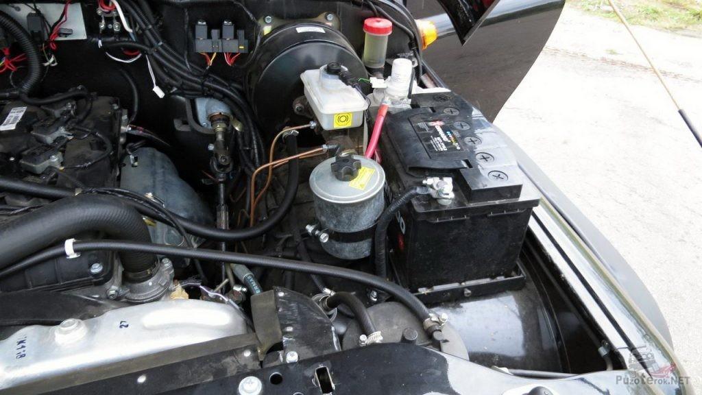 Установка второго аккумулятора на УАЗ Хантер