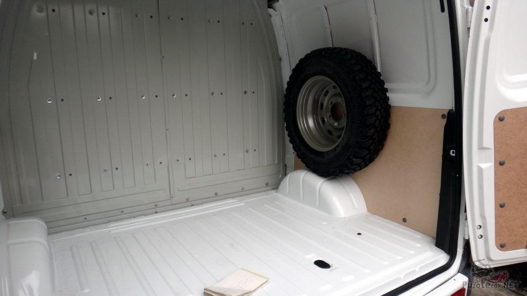 Вместительный грузовой отсек ГАЗ Соболь