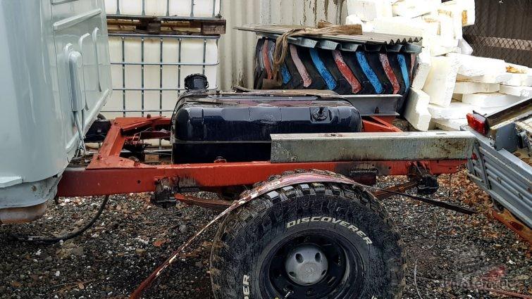 Бак от ЗИЛ-130 на УАЗ Фермер
