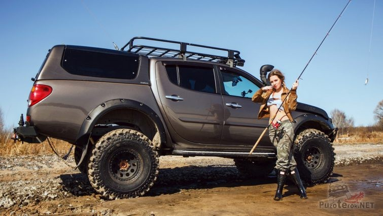 Девушка Miss marzipanka DRIVE2 и L200 в тюнинге