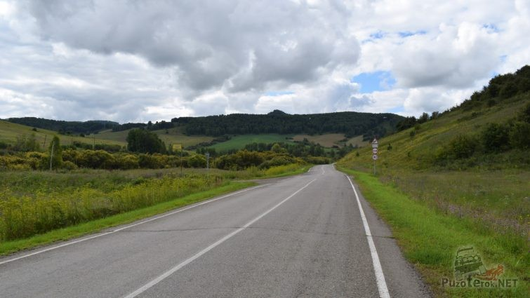 Дорога от Белокурихи на Солонешное