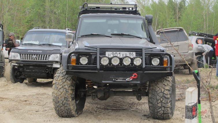 Nissan Patrol Y60 внедорожный тюнинг
